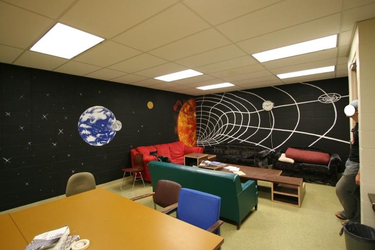 Astronomical. Acrylic Mural