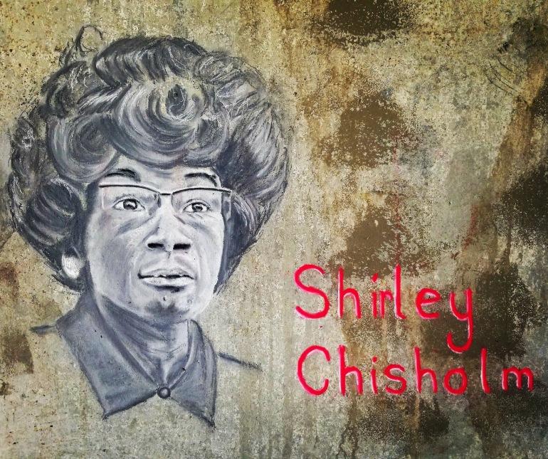 Portrait. Chalk Pastel Street Painting